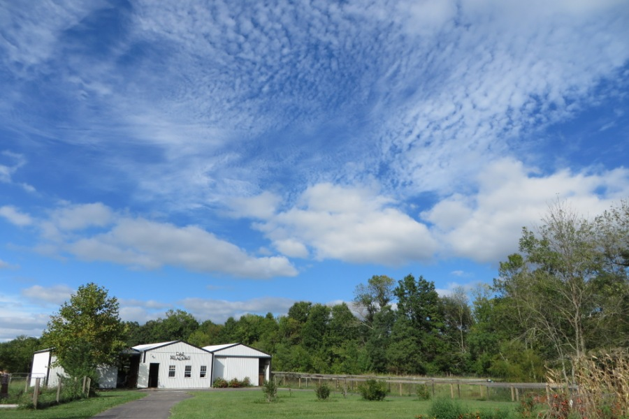 Big Skies over our barn